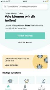 Das schwedische Unternehmen Kry bietet eine Telesprechstunde auf Deutsch an.